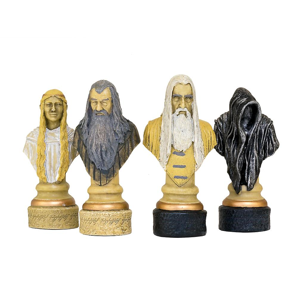 Lord of the Rings Chess Pieces 4.5 Inches Hand Painted Ltd Edition