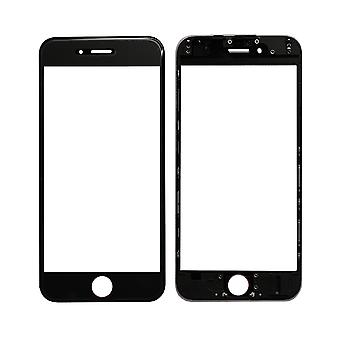 Black Top Glass & Frame For iPhone 6 | iParts4u