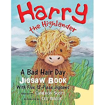 Harry the Highlander - A Bad Hair Day Jigsaw Book by Cameron Scott - 9