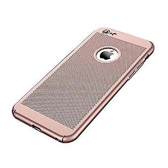 Stuff Certified® iPhone 8 Plus - Ultra Slim Case Heat Dissipation Cover Cas Case Rose Gold