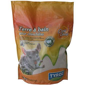 Tyrol Baño de polvo de chinchilla (Roedores , Lechos y sustratos)