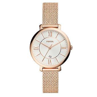 Fossil Watch ES4352 - Armbåndsur Bo tier Steel Rose Gold Kvinder