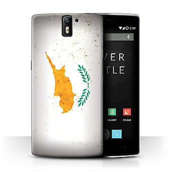 STUFF4 Case/Cover for OnePlus One/Cyprus/Cypriot/European Flag