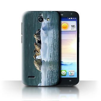 STUFF4 Fall/Abdeckung für Huawei Ascend G730/Seals/Ice/Marine Wildlife