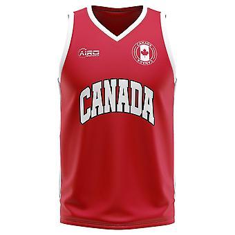 Canada Home Concept Basketball Shirt - Kids