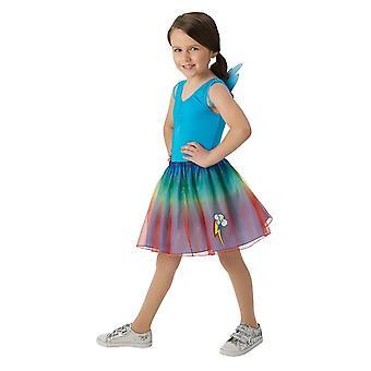 My Little Pony Girls Rainbow Dash Tutu Set