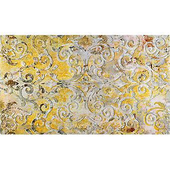wash+dry doormat Valencia Love rimless washable rug Decor