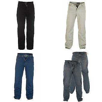 Герцог Mens Rockford комфорт подходят джинсы