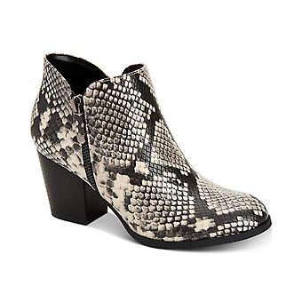 Stil & co kvinners Masrinaa mandel Toe ankel mote støvler