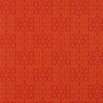 Grace Rojo Naranja Damasco Wallpaper Graham Brown Paste La Pared Marcel Wanders