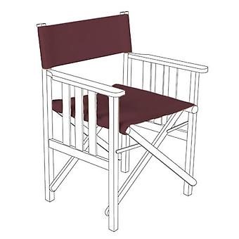 Wine Director Chairs Replacement Polyutherane Coated Canvas Covers Garden