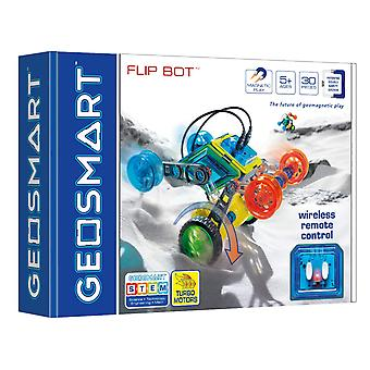 GeoSmart Flip Bot With Wireless Remote Control Magnetic Play 30 PCs