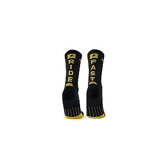 M2O Ride Fast Crew Plus Compression Socks