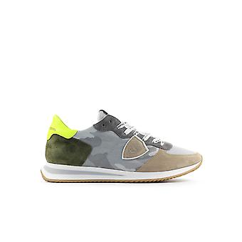 PHILIPPE MODEL TRPX CAMOUFLAGE GREY SNEAKER