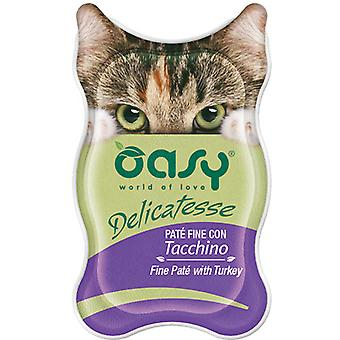 Oasy Fine Pate with Turkey (Cats , Cat Food , Wet Food)