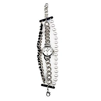 Eton Multi Strand Fashion Watch, Chrome finish - 3192L-CH
