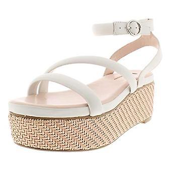 Avec Les Filles Womens Ava Fabric Open Toe Beach Slingback Sandals
