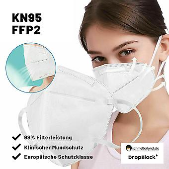 500x Mouth mask KN95 for companies FFP2 500 pieces postage-free mask 95% filtering stock ware