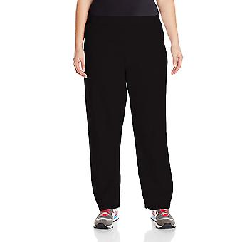Just My Size Women's Plus-Size Fleece Sweatpant, Ebony, 1XL, Ebony, Size 1.0