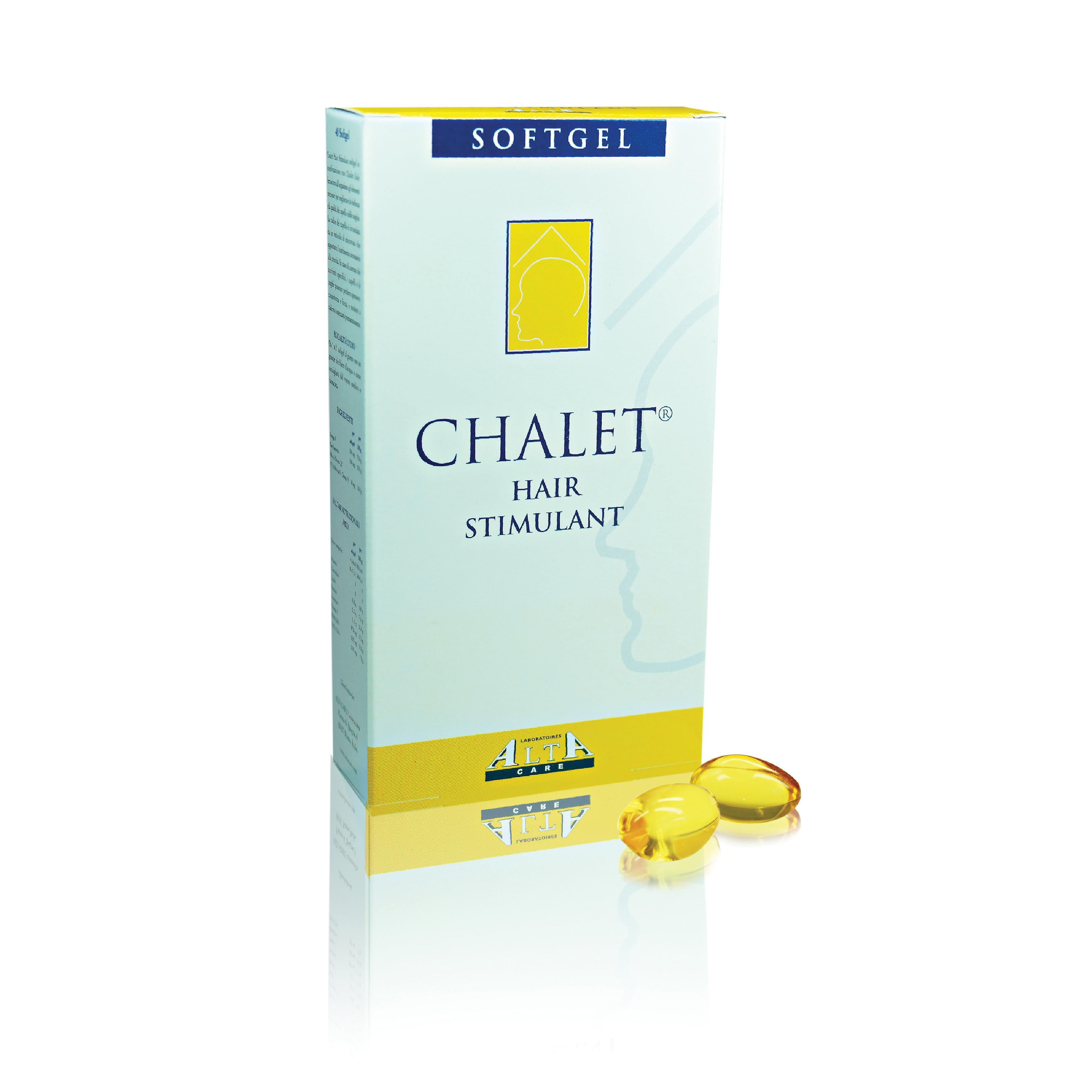 Chalet Hair Stimulant Softgels