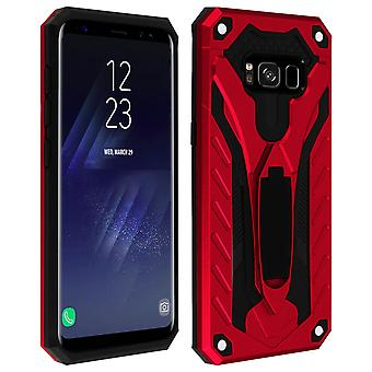 Samsung Galaxy S8 Hybrid Protection Case, Phantom Forcell, Rouge