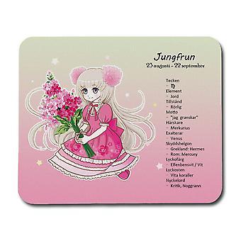 Drăgălaș Zodiac Semn Fecioara Mouse Pad