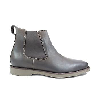 Anatomic Cardoso Brown Vintage Nubuck Leather Mens Pull On Chelsea Boots