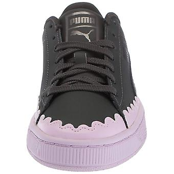PUMA Womens Korb niedrig Top Lace Up Fashion Sneaker