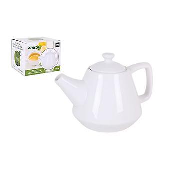 Teapot La Mediterránea Séneca Porcelain White/1,25 L - 24 x 17 x 16,5 cm