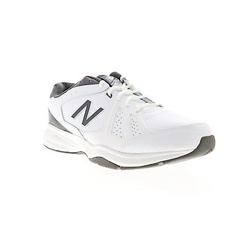 New Balance 409V3 Mens White Leather Extra Wide Athletic Cross Training Shoes