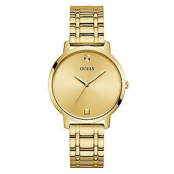 Gissa W1313L2 Kvinnor's Nova Gold Tone Diamond Armbandsur