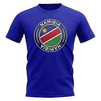 Namibia Football Badge T-shirt (Royal)
