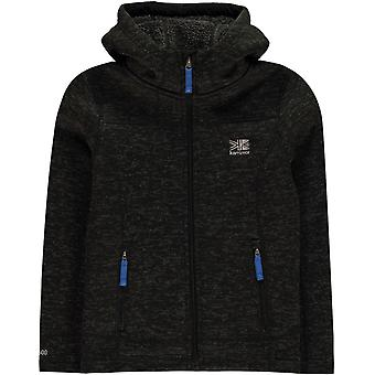 Karrimor Long Sleeve Zip Hoodie Junior Unisex