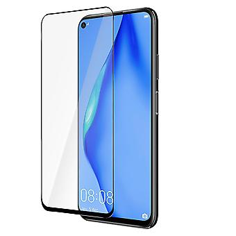 Huawei P40 Lite 9H Tempered Glass Screen protector Curved Hardglass 3mk-Black