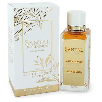 Santal Kardamon Eau De Parfum Spray (Unisex) By Lancome 3.4 oz Eau De Parfum Spray