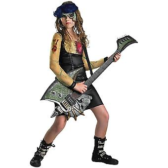 Zombie Rocker Girls Costume