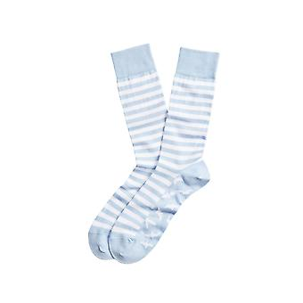 Brooks Brothers Men's Seagull And Stripe Crew Socks