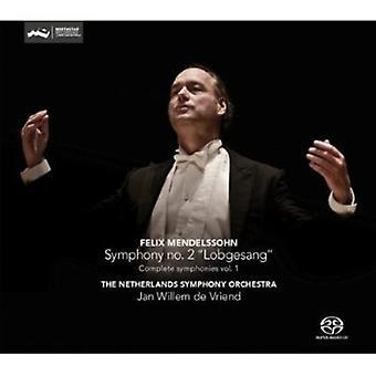 F. Mendelssohn - Felix Mendelssohn: Symphony No. 2 Lobgesang [CD] USA import