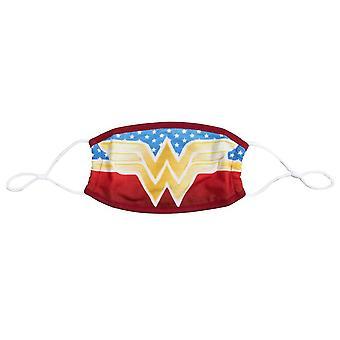Masque de visage de logo de Wonder Woman