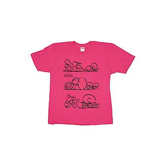Supreme System T-Shirt Dunkelrosa - Kleidung