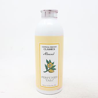 Caswell-Massey Almond Perfumed Talc  3.5oz/100g New