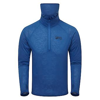 North Ridge Men's Forge Half Zip Top Blue