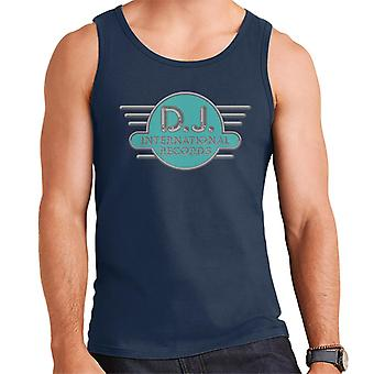 DJ International Records Cyan Logo Men's Vest
