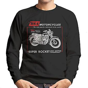 BSA Motorcycles Super Rocket Men's Sweatshirt