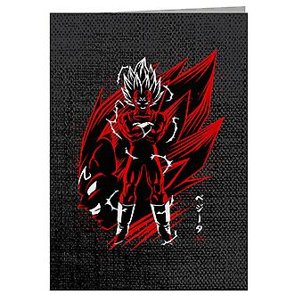 Majin Vegeta Dragon Ball - Biglietto d'auguri