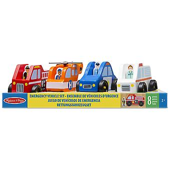 Melissa & Doug Emergengy Vehicle Set