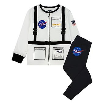NASA Astronaut Boys Long Sleeve Uniform Pyjama Set