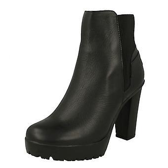 Ladies Harley Davidson Heeled Platform Boots Iredell