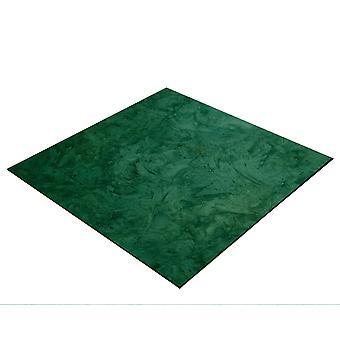 BRESSER Flatlay Baggrund til æglæggende billeder 40x40cm abstrakt mørkegrøn