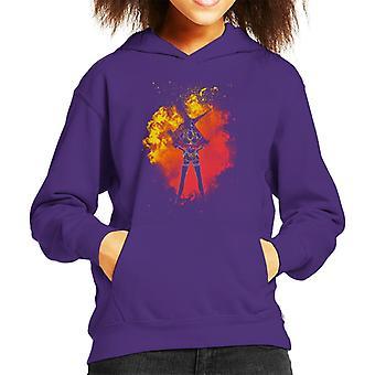 Faye Valentine Cowboy Bebop Kid's Hooded Sweatshirt